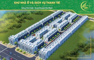 Tổng quan dự án liền kề HBD Thanh Trì