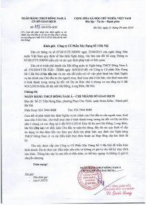 Cam ket bao lanh cua SeABank Du an Sai Dong-1